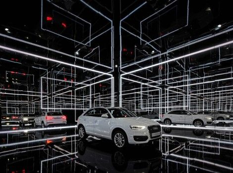 Audi - Q3 Presentation / Installation Barcelona 2011 | Schmidhuber