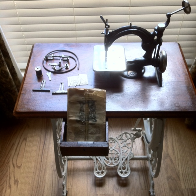 wilcox and gibbs sewing machine value