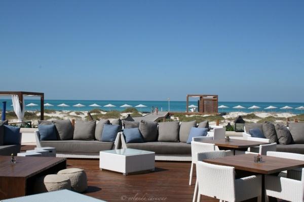 Monte Carlo Beach Club, Abu Dhabi, nice place for coffe time :)