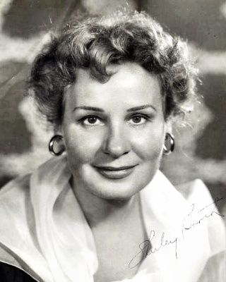 Shirley BOOTH (1898-1992)  Born Marjory Ford.  Notable films ~ Come Back, Little Sheba (1952); About Mrs. Leslie (1954). From 1961 until 1966, she played the title role in the sitcom Hazel
