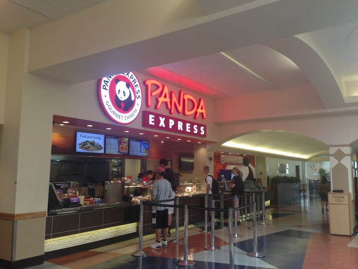 Panda Express is located in East Commons and provides students with quick service!