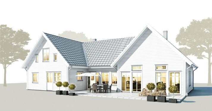 Scandinavian House Designs b:011 - trivselhus | scandinavian houses - and some floor plans