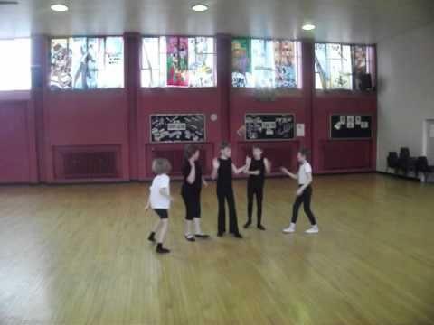 Ballet boys in training