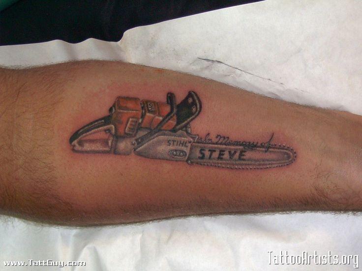 STIHL tat | STIHL INK. | Pinterest | Tat, Chainsaw and Search