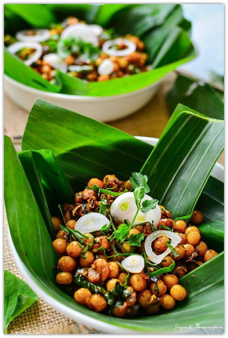 Kelli Chana  Manipuri yellow peas fry snacks