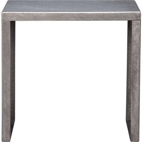 skinny dip side table in accent tables   CB2 15in HSide Tables, Dips Side, Steel Side, Skinnydipsidet Cb2