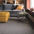 Buy patterned All Square - Titanium carpet tiles at FLOR