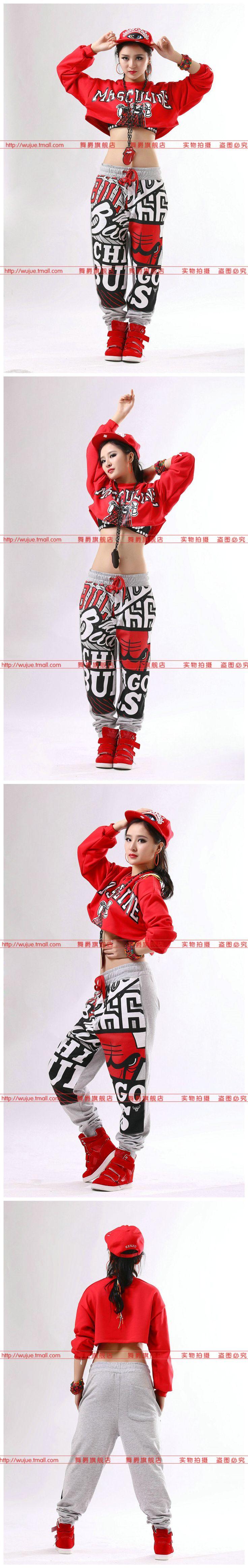 2016 New fashion Brand street skateboard Sweatpants Costumes female performance wear sports trousers Harem Hip Hop Dance Pants-inPants & Capris from Women's Clothing & Accessories on Aliexpress.com   Alibaba Group