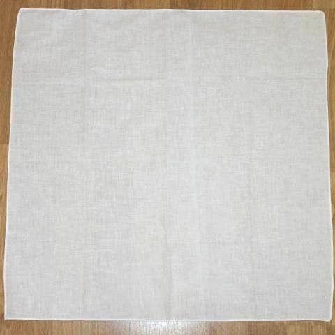 Bandana en coton blanc uni Tête écharpe: Foulard carré 100% coton, lavable en machine. Dimensions: 61cm carré De nombreuses utilisations…
