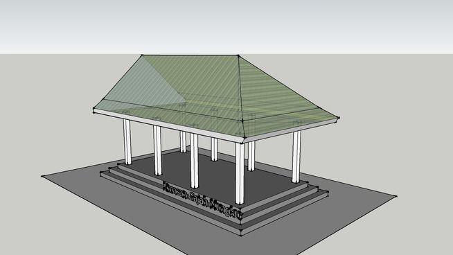 Rumah Jawa - Limasan Gajah Mungkur - 3D Warehouse