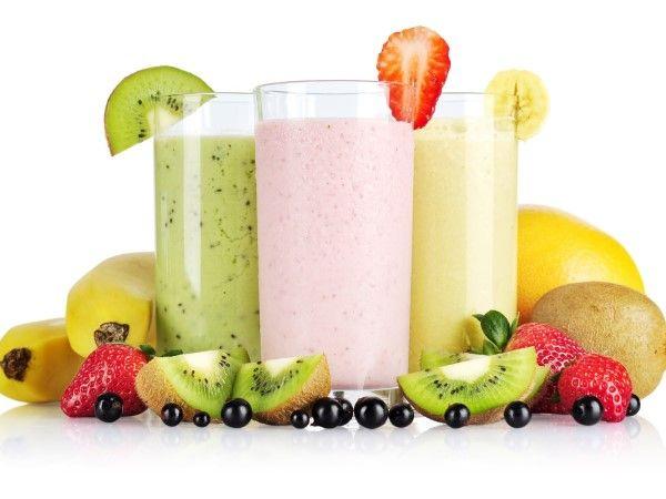 Receitas de vitaminas de frutas e seus benefícios