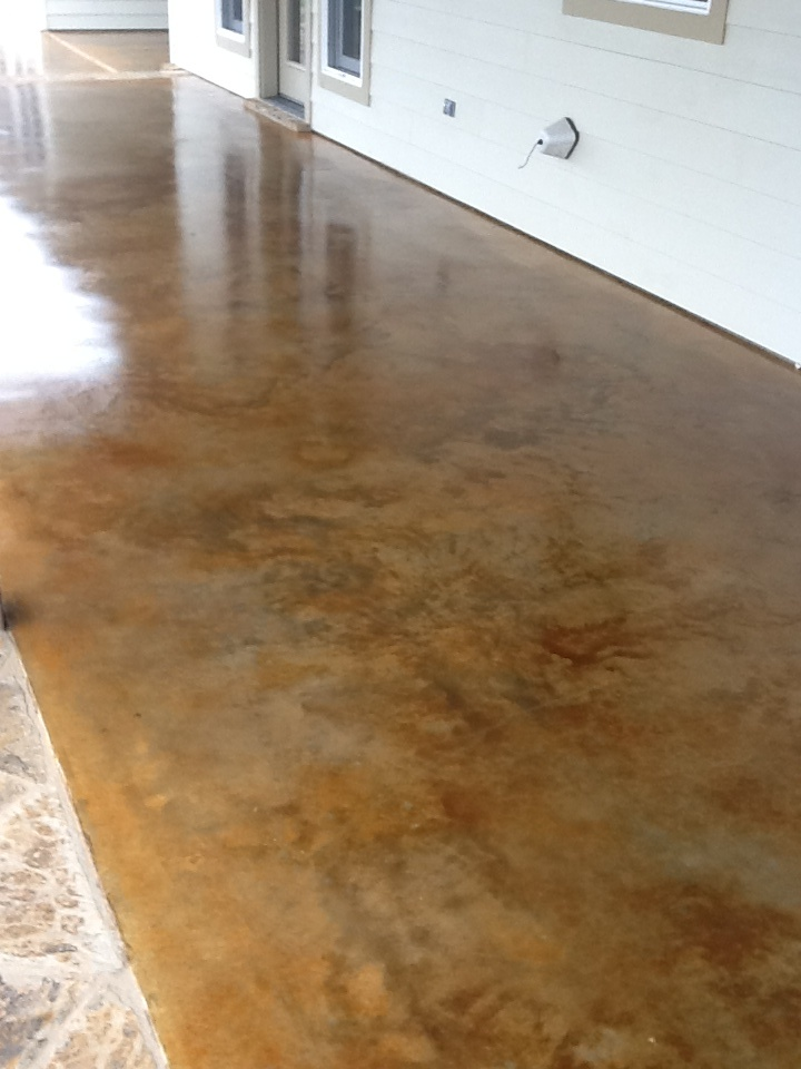 Best 25 Stain Concrete Ideas On Pinterest Stained