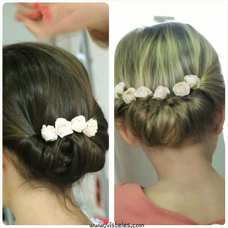 Hairstyle of Macali S14 - perfect for a flower girl!