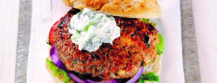 Lamb burgers gluten free