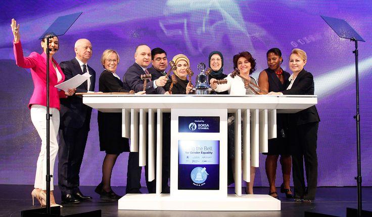 Borsa İstanbul'da Gong bir kez daha Kadın-Erkek Eşitliği için çaldı