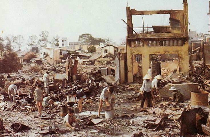 Saigon, 1968, post-offensive Têt