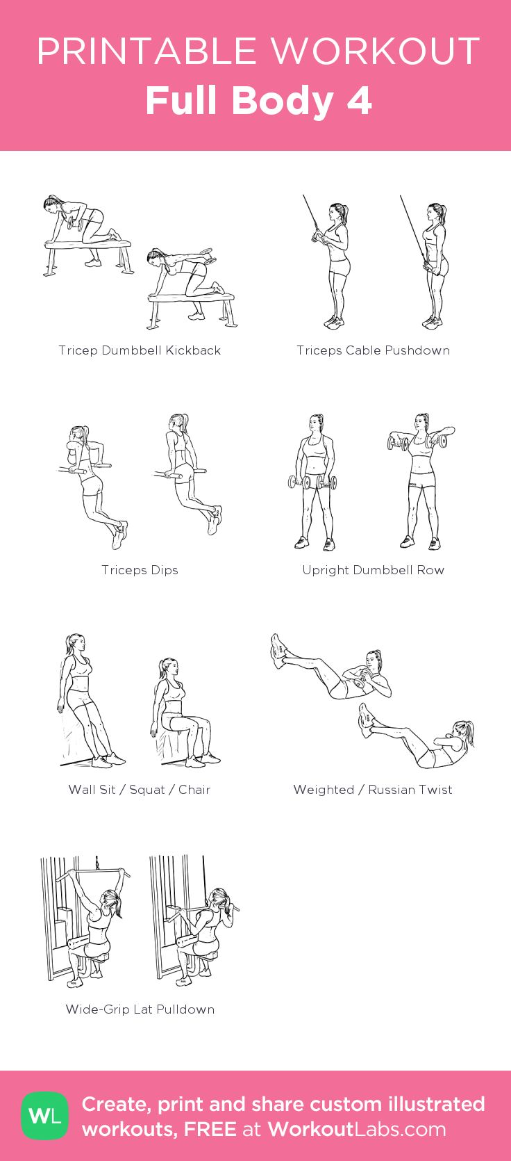 It's just a picture of Amazing Printable Gym Workouts
