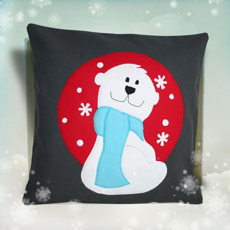 Perna decorativa Urs polar