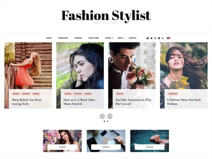 Fashion Stylist Free WordPress Theme: Download @ BlossomThemes