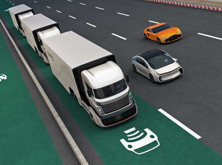 Coming soon to a highway near you: truck platooning - Platooning involves a number of trucks closely following one another connected using vehicle-to-vehicle communication... trucks can follow each other closely leading to better fuel efficiency perhaps up to 15%. http://ift.tt/2iw3U3B