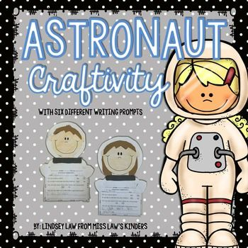 This astronaut craftivity is the perfect craft to incorporate into your space unit. With five different writing prompts, you can choose the prompt that fits your class best. Writing prompts included:-Astronaut Application {Students will LOVE filling out an application to become an astronaut.