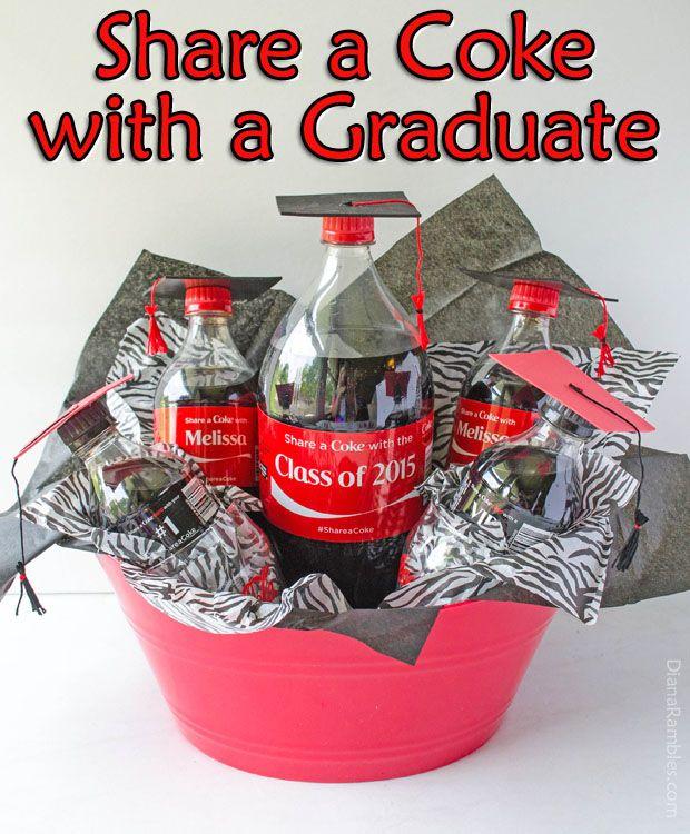 Share a Coke Graduation Gift #ShareAtSchnucks #ad