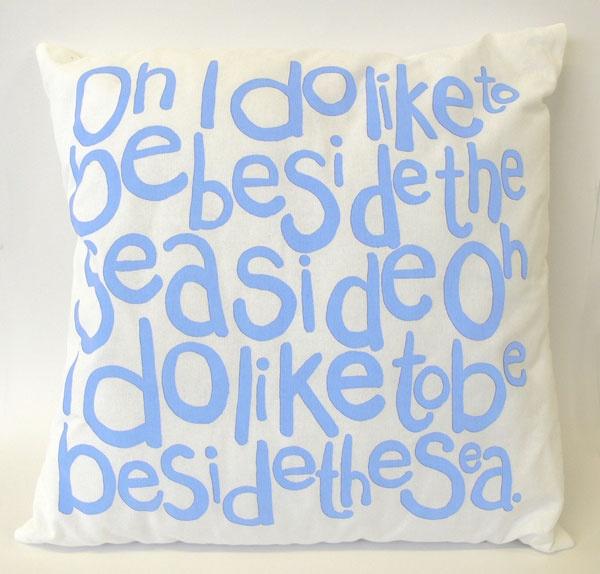Oh I do... Cushion Pale Blue