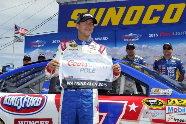 NASCAR at Watkins Glen 2015 Qualifying Results: Race Order Times Reaction