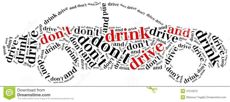 Graphic Design On Car Dont Drink And Drive Alcohol Picture