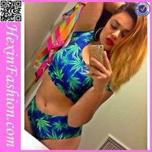 Wholesale Leave Design Fat Women Sexy Swimwear   Best Seller follow this link http://shopingayo.space