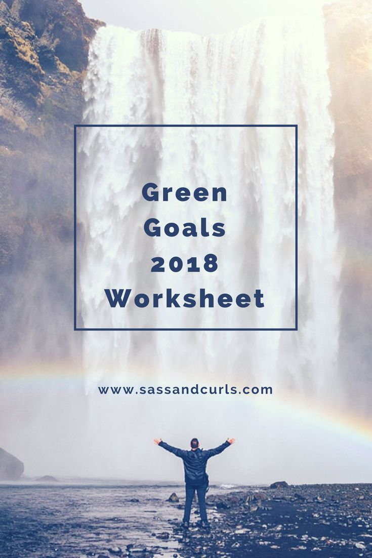 Sustainable goal worksheet #sustainableliving #sustainability #greenliving #goalsetting #goals #newyearsresolutions