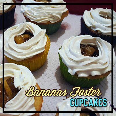 EmilyCanBake: Bananas Foster Cupcakes www.emilycanbake.com