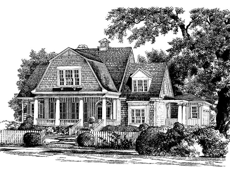 Dutch house plan with 3783 square feet and 4 bedrooms s for Dutch colonial house plans with photos
