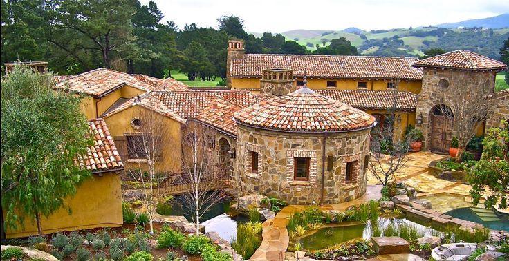 22 best images about villa inspiration on pinterest for Italian villa architecture