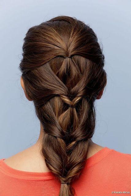 Blog Geovana Vitória: Penteados Faceis Pro Dia a Dia