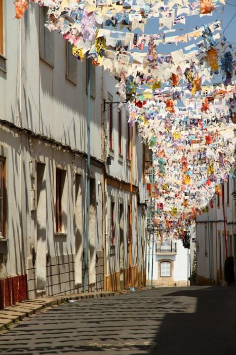 empty street, beja, portugal