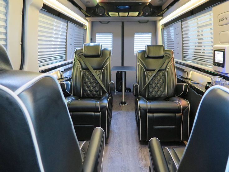 El Kapitan Luxury Sport Conversion Vans Have The High End Materials Electronics And Hand
