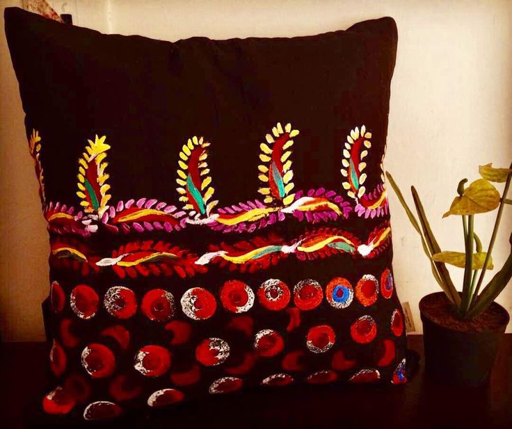 Hand painted cushion cover ❤️