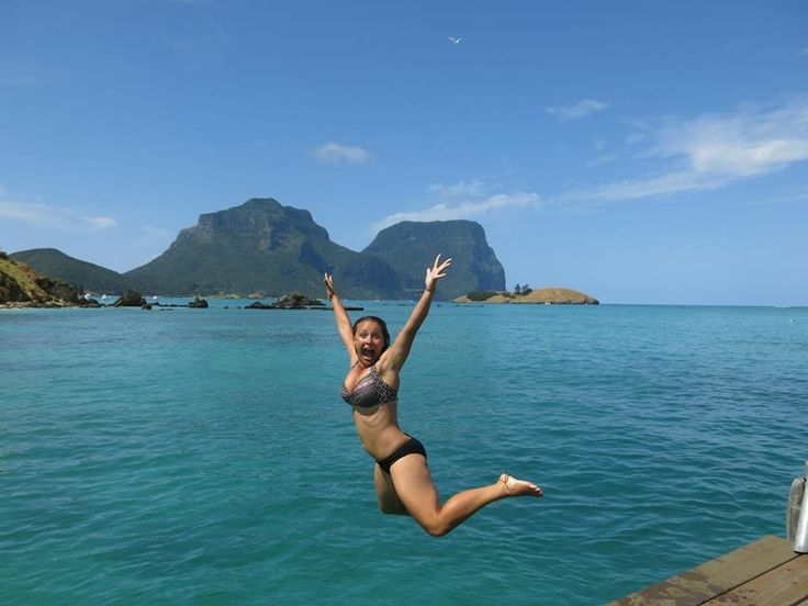 One of the best experiences on Lord Howe Island! Jetty jumping into the pristine waters of the lagoon. www.lordhoweisland.info