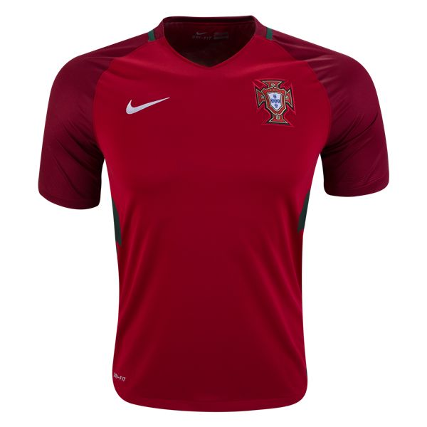 Nike Portugal Home Jersey 2016