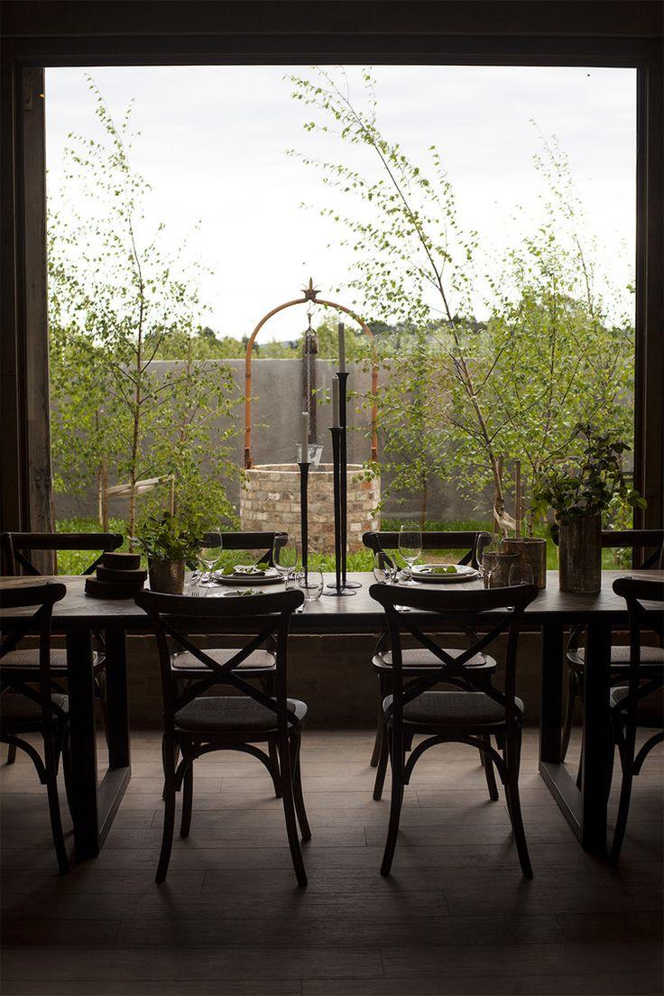 Private garden view from The Warehouse #thewarehouse #garden #views #meletos #yaravalley