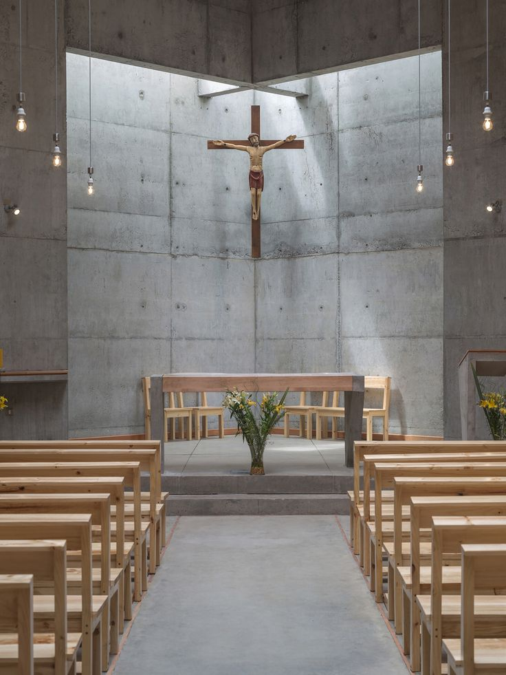Gallery - San Alberto Magno Chapel / Juan Pavez Aguilar + José Requesens Aldea - 5