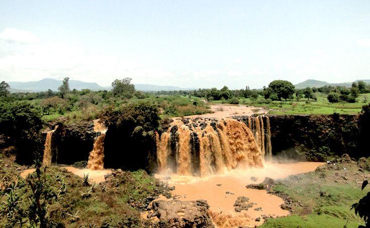 Las cataratas del Nilo Azul, Etiopía