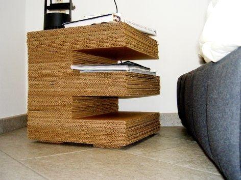 Mesa de cartón