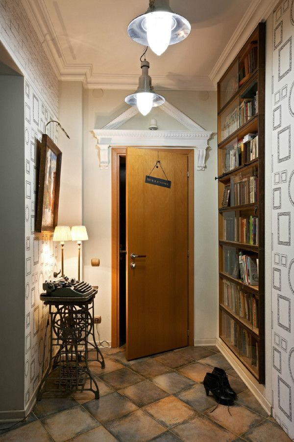 76 best images about hallways on pinterest grey walls for Foyer decorating ideas small space