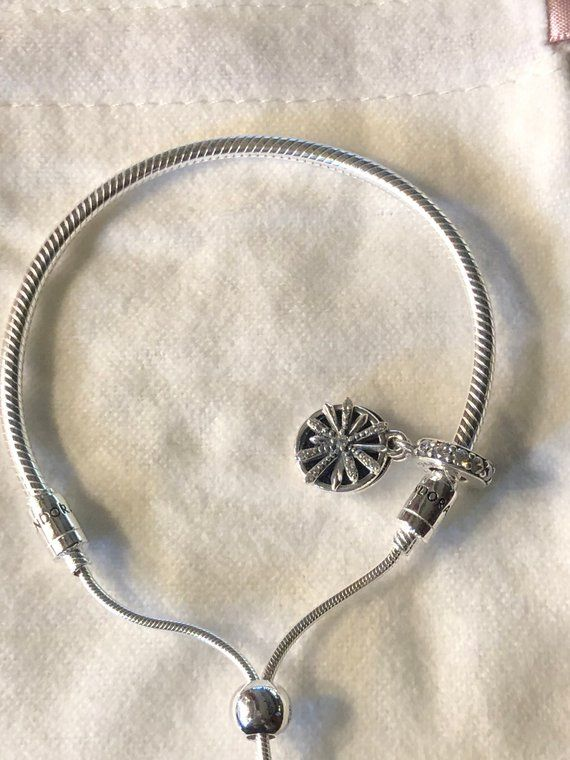 b12ae2fbd Pandora Silver Bracelet/One Size Fits ALL/Pandora Dazzling Wishes Dangle  Charm in 2019 | CharmsnBracelet.com | Bracelet gift box, Pandora bracelets,  Silver