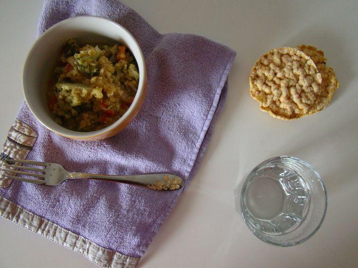 Red Lentil with Vegetables | booksandlavender.com
