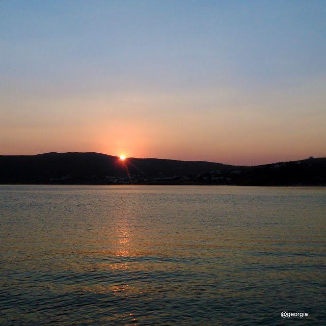 .........My Andros: Ηλιοβασίλεμα... στην Άνδρο