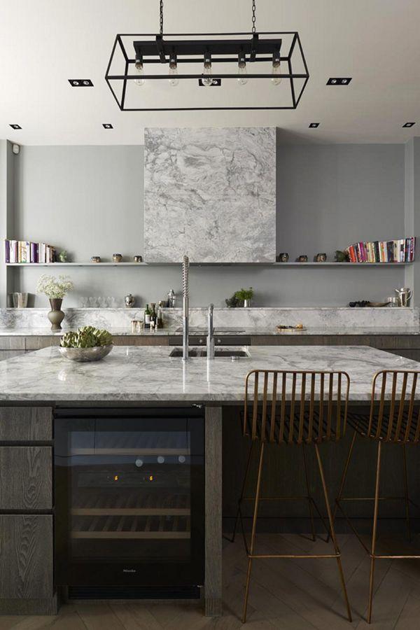 Современный дизайн в западном Лондоне от De Rosee Sa   Пуфик - блог о дизайне интерьера
