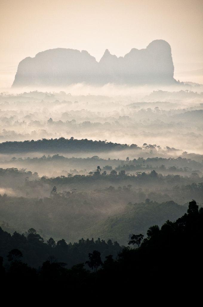 Panorama Hill, Sungai Lembing , Kuantan, Malaysia